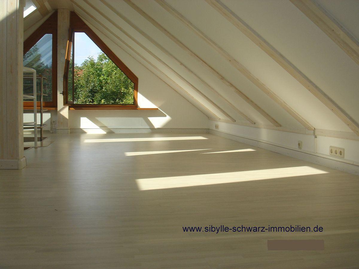 Dachgeschoss mit Ausbaupotential